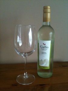 A nice glass of white wine