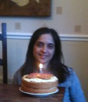 Me and my cake
